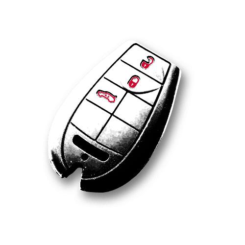 image for KF0130001 Jeep key fob